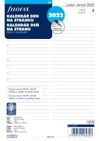Filofax Kalendář A5 2022 den na stranu