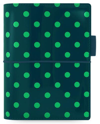 Diář Filofax Domino patent A7 tmavě zelený