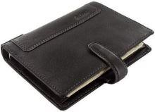 Filofax Holborn A7 Pocket černý diář kapesní