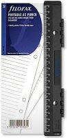 Filofax děrovač plastový přenosný pro A5 náplň do diáře