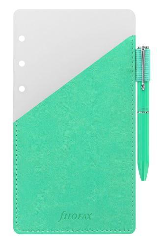 Filofax přídavné poutko na pero + zelené pero