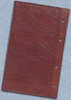 Kožený obal na diář ADK A6 hnědý