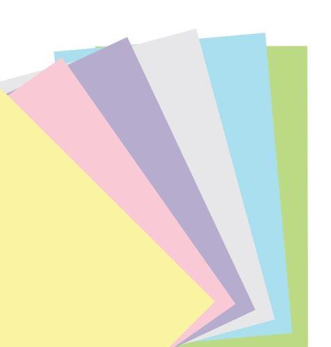 Filofax papír nelinkovaný pastelový A5