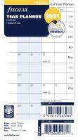Filofax plánovací kalendář A6 2021 horizontální anglický