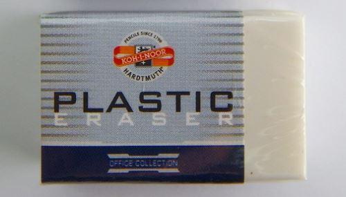 Koh-I-Noor mazací pryž plastová bílá 4770/80