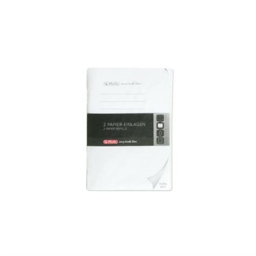Herlitz náplň flex A6/2x40 listů čistý