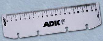 Náplň do diáře ADK A4 pravítko formulář