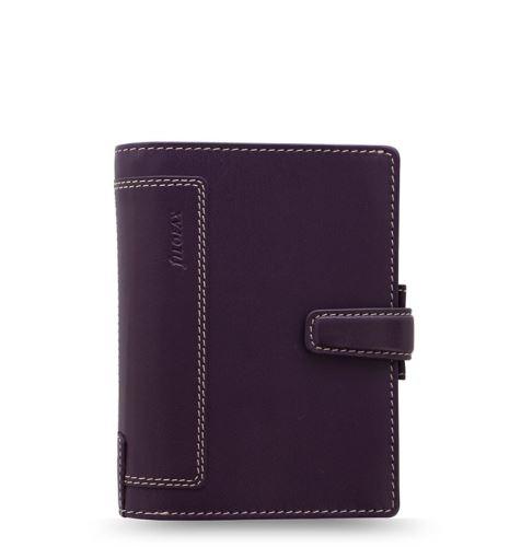 Filofax Holborn A7 Pocket fialový diář kapesní