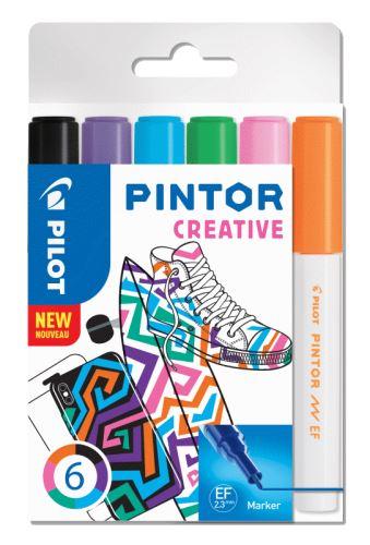 Pilot Pintor Extra Fine Creative 6ks
