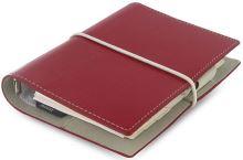 Diář Filofax Domino formát A7 červený red (1)