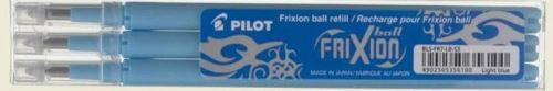 Pilot Frixion Ball set 3ks náplní 0,7mm