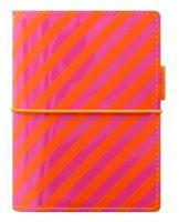 Filofax Domino Patent A7 Pocket pruhy diář kapesní lesklý