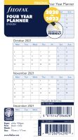 Filofax roční plánovací kalendář A6 2021-2024 anglický