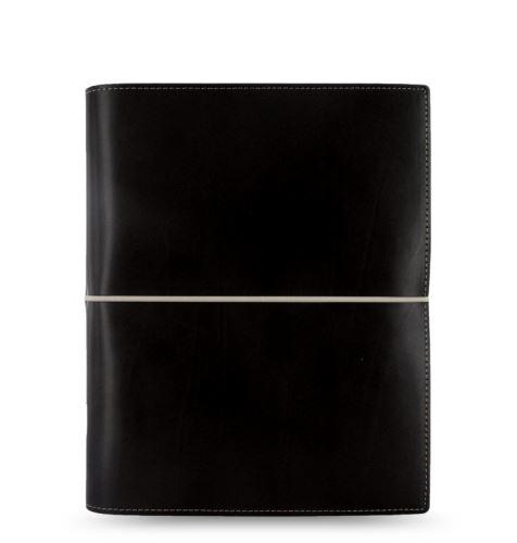 Diář Filofax Domino formát A5 černý black