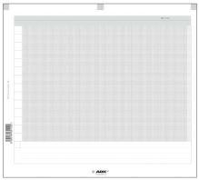 Náplň do diáře ADK A6 milimetrový papír formulář