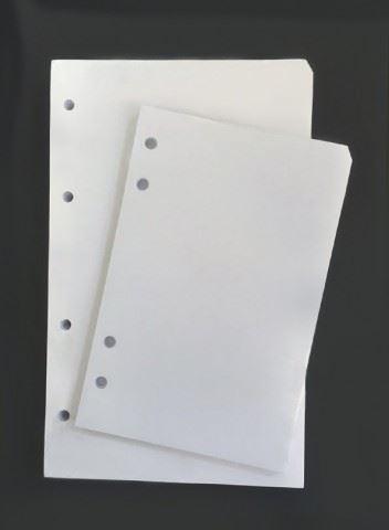 Náplň do diáře ADK A5 bílé listy formulář