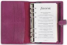 Filofax Finsbury A6 Personal malinový diář osobní personální